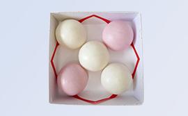 慶弔菓子/#165紅白薯蕷饅頭