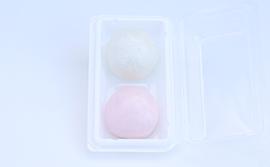 紅白薯蕷饅頭/IMG2660